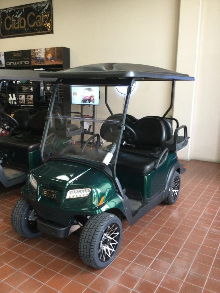 (OXN) 2021 Onward 4 Passenger Electric Vehicle HP (Metallic Jade Green)