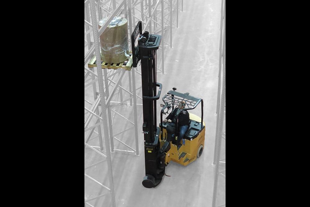 B40AC-HL/B50AC-HL Multipurpose High Lift Articulating Electric Forklift