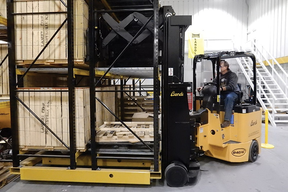 B40AC-DR B50AC-DR Bendi Electric Deep Reach Forklift