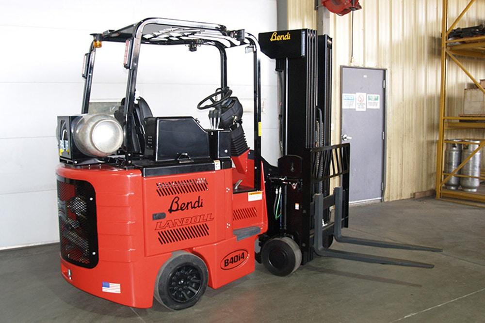 B40i5 Bendi Rear Wheel Drive Narrow Aisle Multipurpose LP Gas Forklift