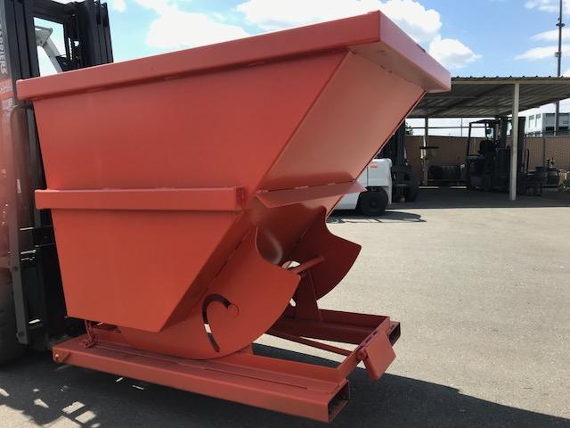 Heavy Duty Steel Dumping Hopper