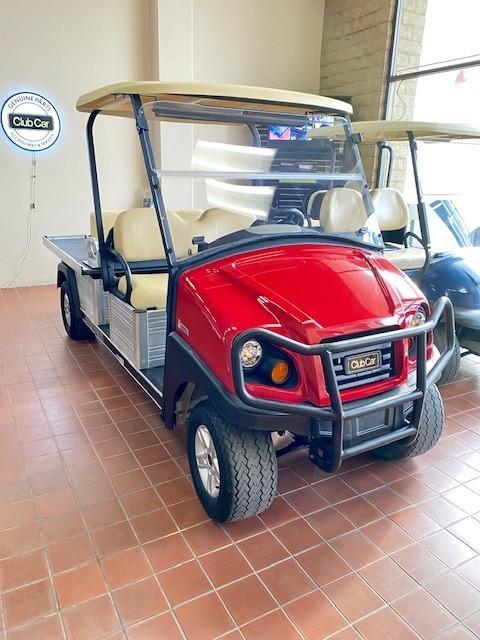 (OXN) 2017 Club Car Transporter -Red/Beige