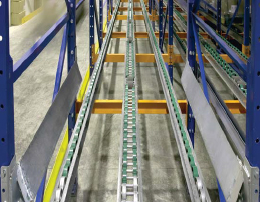Pallet Flow Rack Systems from Power Machinery Center