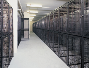 Double Tier Tenant Storage Lockers