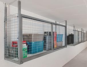 Hanging Tenant Storage Lockers