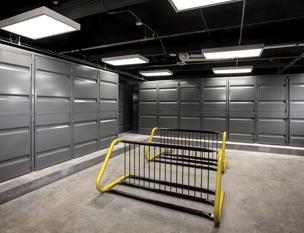Sheet Metal Tenant Storage Lockers