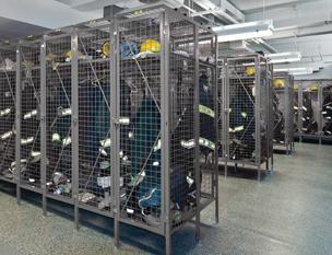 TA-50 Gear Lockers