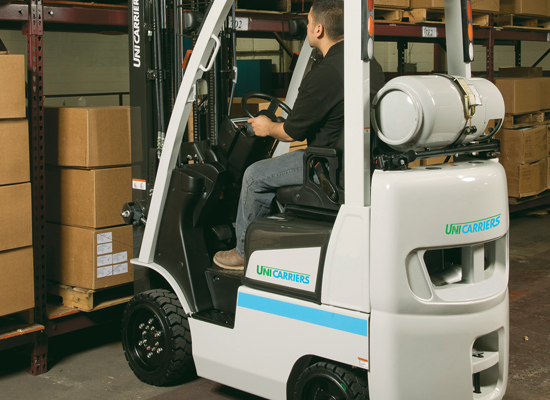 Internal Combustion Cushion Tire Forklifts