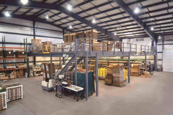 Multi-Purpose Warehouse Mezzanines